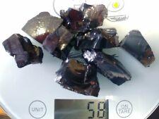 Shungite elite 55 gr.size 20 - 30 mm. VERY RARE MINERAL. 98% carbon.