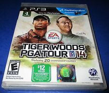 Tiger Woods PGA Tour 14 Sony PlayStation 3 *Factory Sealed! *Free Shipping!