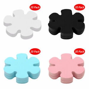 20 Flower Safety Non-Slip Treads Applique Stickers Mat Bath Strips Tub Pad Decal