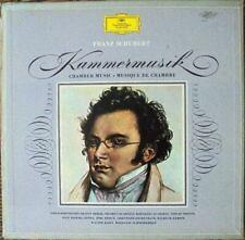 SCHUBERT KAMMERMUSIK - CHAMBER MUSIC: DGG SKL 170-177 TULIP  - 8X LP NM*