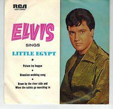 MFD IN AUSTRALIA NM EP 45 RPM ELVIS PRESLEY : SINGS LITTLE EGYPT