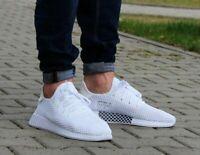 Adidas Originals Deerupt White Black Mens Running Shoe Trainer UK 7-11 CQ2625