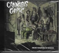 CANNABIS CORPSE-FROM WISDOM TO BAKED-CD-death metal-six feet under-gruesome