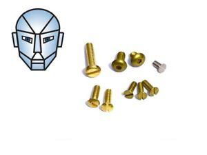 Brass Rebolt Screw Kit Screws - To Suit Crosman 1377, 2240, 2250