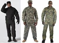 Army Combat Uniform Camouflage Rip Stop Made To Military Specs Rothco ACU
