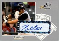2005 Just Autographs Signatures Silver #17 Brad Eldred Auto /100 - NM-MT