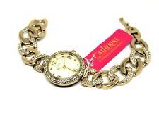 Brand New Catherine Malandrino Women Fashion Watch Crystal bezel and bracelet