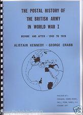 STORIA postale dell'esercito britannico nella prima guerra mondiale: Prima & Dopo il 1903 -1929
