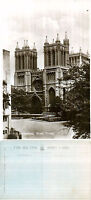 1930's WEST FRONT BRISTOL CATHEDRAL BRISTOL UNUSED POSTCARD