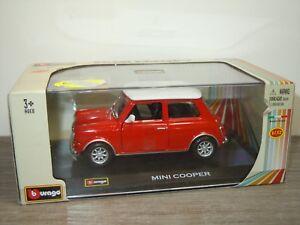 Mini Cooper - Bburago 1:32 in Box *33212