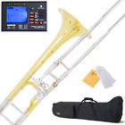 NEW MENDINI INTERMEDIATE Bb W/ F-ATTACH. TENOR TROMBONE