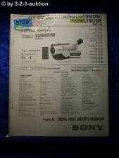 Sony Service Manual DCR TRV120 TRV120E TRV120P TRV125E TR8000E TR8100E (#5709)