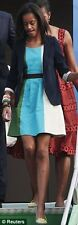 NWT Anthropologie Glanz Sea-Colorblocked Dress Size 8