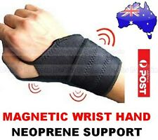 NEOPRENE MAGNETIC HAND WRIST SUPPORT GUARD BAND-SPORTS GYM CTS & RSI PAIN RELIEF