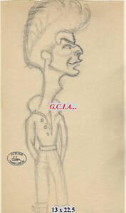 G.PHILIPPE - PORTRAIT/ CARICATURE- ORIGINAL par LEBON