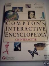 Compton's Interactive Encylopedia PHILIPS CDi CD-i