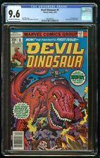 DEVIL DINOSAUR (1978) #1 CGC 9.6 1st APPEARANCE OF MOON-BOY & DEVIL DINOSAUR