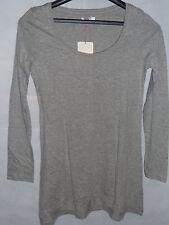 Damen Shirt Langarm FLG Flashlights Longshirt Grau Gr. 32-42 NEU