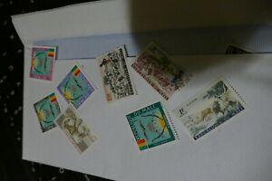 8 Mali (Africa) used postage stamps philately kiloware postal