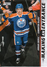 11/12 SCORE MAKING AN ENTRANCE #3 JORDAN EBERLE OILERS *3079