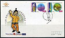 INDONESIE: ZB 1940/1941 FDC 1999 Jaar van het Ontwerpen en Bouwen