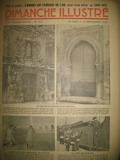 N° 707 REPORTAGES ROMAN CONAN DOYLE BD BICOT M. POCHE DIMANCHE ILLUSTRE 1936