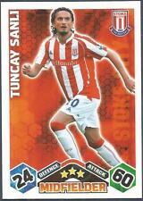 TOPPS MATCH ATTAX 2009-10-STOKE CITY & TURKEY-TUNCAY SANLI