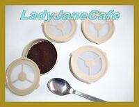 4 Permanent Rechargeable SENSEO filtre à café Pots à bille: ECOPAD GB