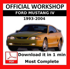 buy ford mustang workshop manuals car manuals and literature ebay rh ebay co uk 2015 ford mustang workshop manual 2015 ford mustang workshop manual