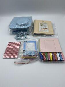 Gmatrix Fujifilm Instax Mini 7 8 Case Bag Accessory Bundle Set Best Gift Blue