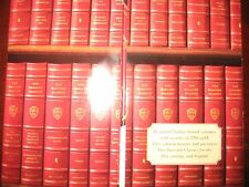 Easton Press HARVARD CLASSICS 50 Vol Complete Leather Set RARE MIXED CONDITION