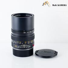 Leica Elmarit-M 90mm/F2.8 E46 Ver.II V2 Black Lens Yr.1988 Germany #630