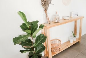 Rustic modern console table, farmhouse style, coastal style, Rustic Look