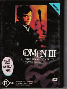 Omen 3 III: The Final Conflict 25th Anniversary Edition DVD