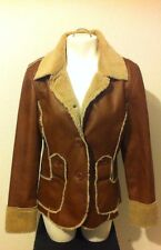 Marcelle Renne Beautiful Brown Coat Size Medium
