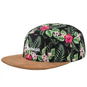Blackskies Oahu 5-Panel Cap Damen Herren Baseball Mütze Kappe Blumen Floral Surf