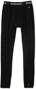 Smartwool Merino Mens 150 Baselayer Performance Bottoms Black Size Large -