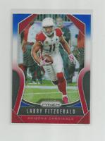 LARRY FITZGERALD (Arizona) 2019 PANINI PRIZM RED,WHITE & BLUE PRIZM CARD #231