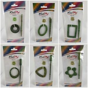 KnitPro Shawl Pins - Misty Green