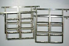 "Lot of 4 Sheet Film Kodak Stainless Developing Hangers 3 1/4"" x 4 1/4"""