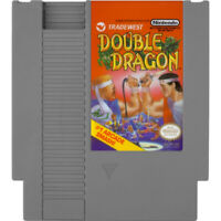 Double Dragon Authentic NES Game Cartridge Clean *VG
