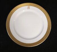 Stunning Rosenthal Selb Plossberg Gold Encrusted Aida Salad Plate