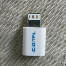 iDigital Micro USB to 8-pin Lightning Adapter Connector for iPhone 5 6 7 8 X