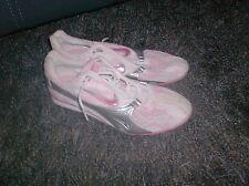 Nike Zoom Jana Star Ii Women's Track & Field Shoes Sz 9 Bubble Gum Pink Silver