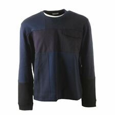 VALENTINO Sweater Navy Patch Size Large AP 303