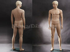 Male Fiberglass Realistic Mannequin Dress From Display #MZ-WEN6