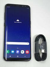 Samsung Galaxy S8 Plus 64GB Midnight Black Unlocked SM-G955W Canadian GSM #2524