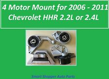 4 Motor Mount for 2006 2007 - 2011 Chevrolet HHR 2.2L 2.4L Automatic Motor Mount
