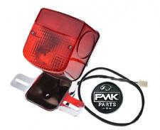 Rear Tail Brake Light Taillight Lamp Chrome for Suzuki GN125 GN 125