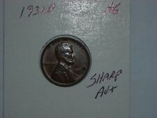 wheat penny 1931D HIGH GRADE AU+ 1931-D LOT #6 SEMI-KEY LINCOLN CENT